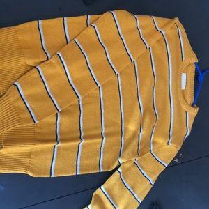 Yellow ae sweater